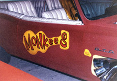 Monkey mobile car for Barris