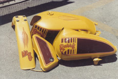 Motorcycle for George Barris