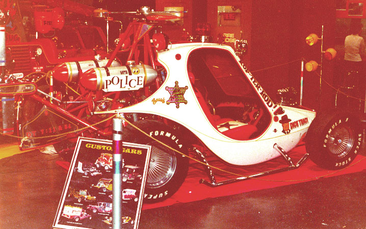 Dick Tracy Copter-Rod for George Barris