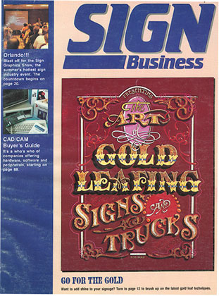 Cover Art for Sign Business Magazine