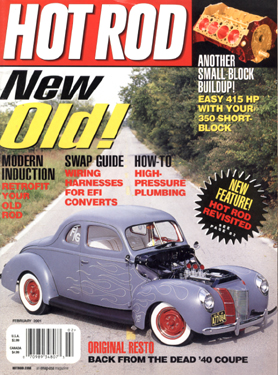 Cover: Hot Rod Magazine, 2/2001 click here to enlarge picture