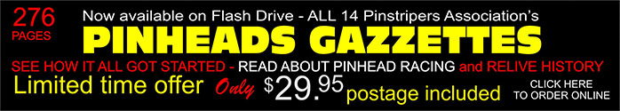 click here to order Flash Drive with all PINHEADS GAZZETTES.