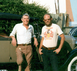 Bob with Andy Griffith